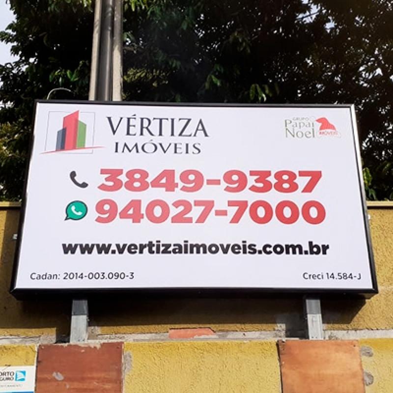 Orçamento de Placas Luminosas Back Light Parque Ibirapuera - Placas Luminosas Back Light