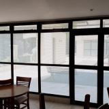 adesivo jateado para janela valor Chácara Kablin