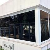 adesivo jateado para janela Cidade Monções