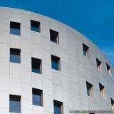 fachada com acm orçar Vila Lusitania