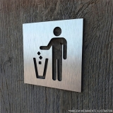 orçar placa informativa para banheiro Itaim Bibi