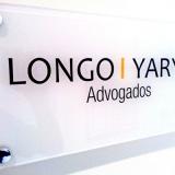 placa informativa para indústria Planalto Paulista