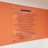 placas informativas empresas orçar Ibirapuera