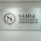 placas informativas empresas Sacomã