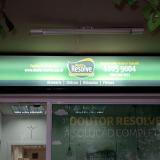 placas informativas para drogarias orçar Vila Gumercindo